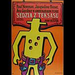Jan Mlodozeniec Life And Times Of Judge Roy Bean Polish Movie Poster