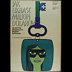 Maciej Hibner How To Steal A Million Polish Audrey Hepburn Movie Poster