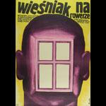 Wiesniak Na Rowerze Polish Movie Poster