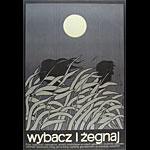 Jerzy Flisak Hello and Goodbye Original Polish Movie Poster