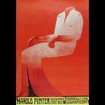 Franciszek Starowieyski Harold Pinter, The Lover Kochanek Lekki Bol Polish Theater Poster