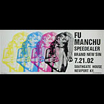 Print Mafia Fu Manchu Poster