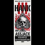 Print Mafia Hank (Williams) III and Assjack Poster