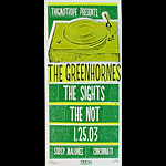 Print Mafia The Greenhornes Poster