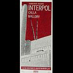 Print Mafia Interpol Poster