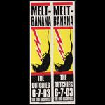 Print Mafia Melt Banana Poster
