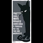Print Mafia Pretty Girls Make Graves Poster