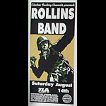 Print Mafia Rollins Band Poster