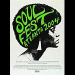 Print Mafia Soul Fest Atlanta - LL Cool J Poster