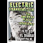 Print Mafia Electric Frankenstein Poster
