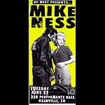 Print Mafia Mike Ness (of Social Distortion fame) Poster