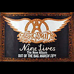 Aerosmith Nine Lives Promo Poster