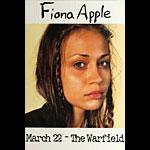 Fiona Apple Warfield Poster