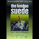 London Suede Coming Up Promo Poster