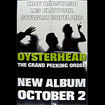 Oysterhead The Grand Pecking Order Album Release Promo Poster