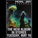 Pearl Jam Binaural 2000 Album Release Promo Poster