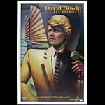 David Bowie - Serious Moonlight Promo Poster