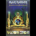Iron Maiden - Seventh Son of a Seventh Son Album Release and Tour Promo Poster
