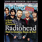 Radiohead Rolling Stone Promo Poster