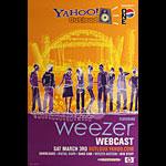 Weezer Webcast Poster