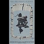 Carl Lundgren Canned Heat postcard