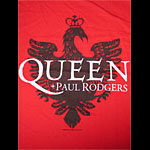 Queen & Paul Rodgers Original 2005 European Tour Shirt Production Sample T-Shirt