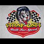 Stray Cats Built For Speed 2007 Tour T-Shirt