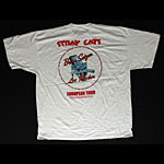Stray Cats - 2004 European Tour T-Shirt