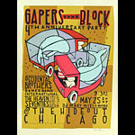 Jay Ryan Gapers Block 4th Anniversary Party Poster