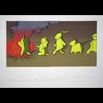 Jay Ryan Andrew Bird MX Missles Art Print