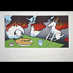 Jay Ryan Andrew Bird Tables and Chairs Art Print
