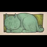 Jay Ryan Sleeping Akiko Art Print