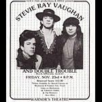 1984 Stevie Ray Vaughan Photo Handbill