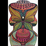 Golden Star Presents Iron Butterfly in Santa Rosa Handbill