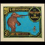 Steve Walters (Screwball Press) Neko Case and her Boyfriends Poster