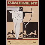 Steve Walters (Screwball Press) Pavement Poster