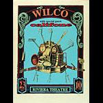 Steve Walters (Screwball Press) Wilco Poster