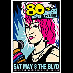 Scrojo 80's Allstars Poster