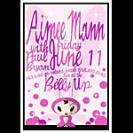 Scrojo Aimee Mann Poster
