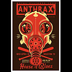 Scrojo Anthrax - Metal Alliance Tour Poster