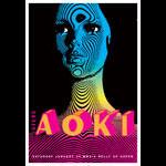 Scrojo Steve Aoki Poster