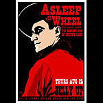 Scrojo Asleep At The Wheel Poster