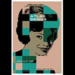 Scrojo Atlas Genius Poster