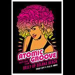 Scrojo Atomic Groove Poster