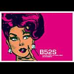 Scrojo The B-52's (B-52s) Poster