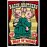 Scrojo Bacon Brothers Poster