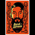 Scrojo Band of Horses Poster