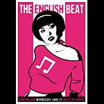 Scrojo The English Beat Poster