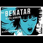 Scrojo Pat Benatar Poster