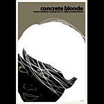 Scrojo Concrete Blonde Poster